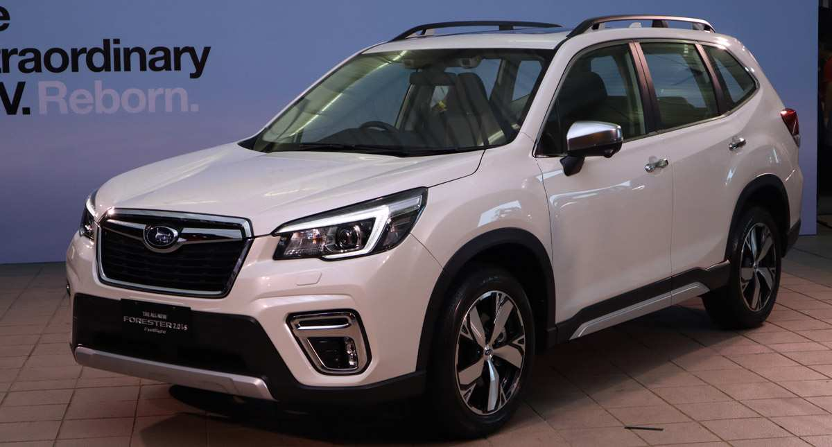 11 A The 2019 Subaru Forester Photos