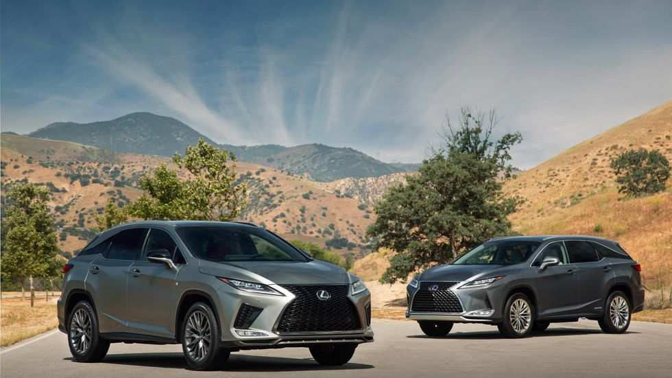 11 All New When Will The 2020 Lexus Rx Come Out Performance And New Engine