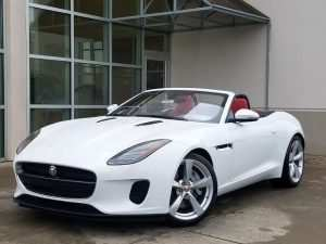2019 Jaguar Convertible