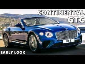 11 New 2019 Bentley Continental Gtc First Drive