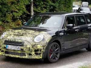 2019 Mini Cooper Spy Shots