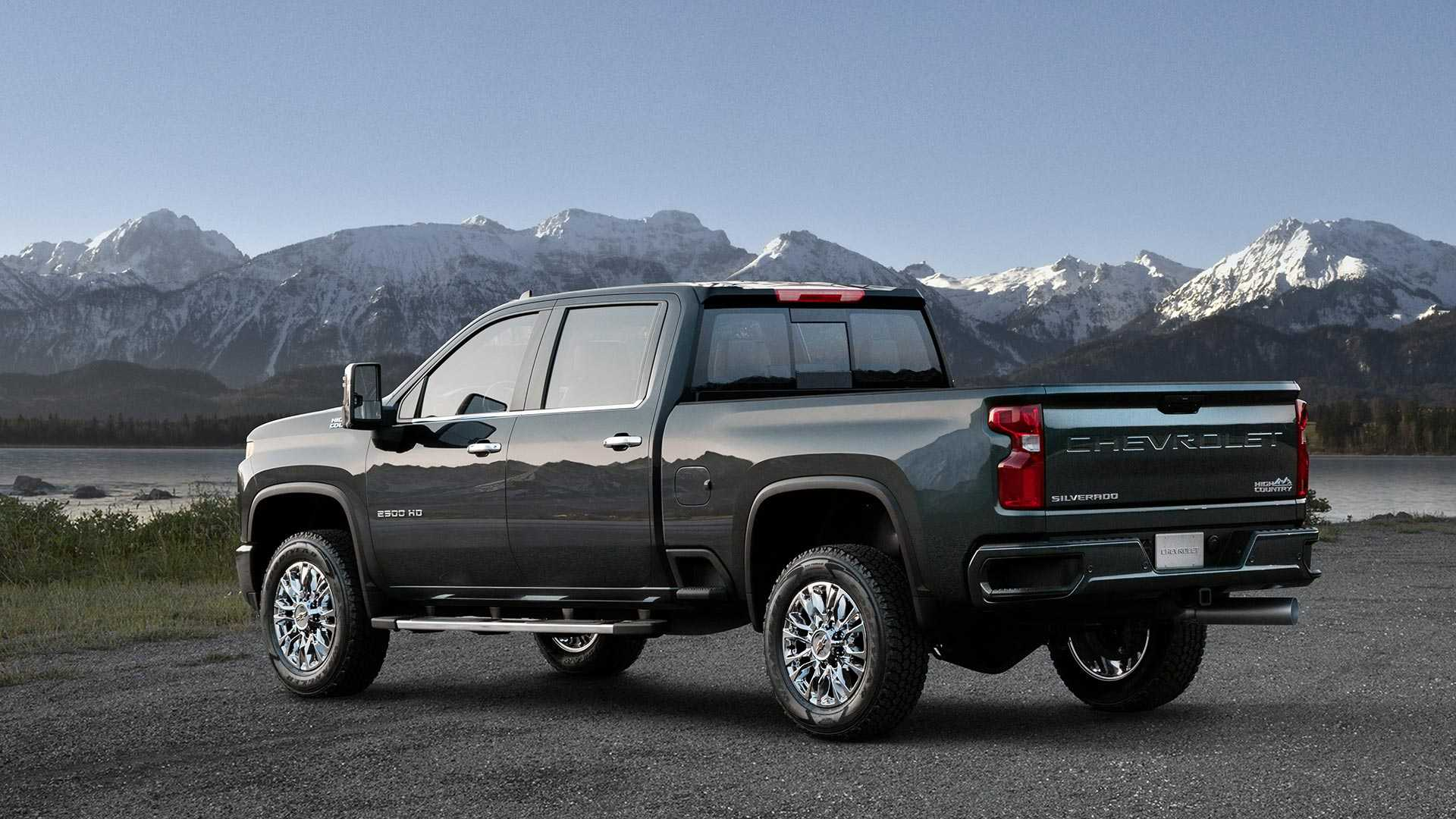 12 Best 2020 Chevrolet Silverado Hd Teased Pictures