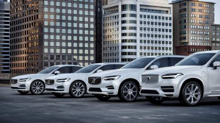 12 New Volvo 2019 Elektrikli Model