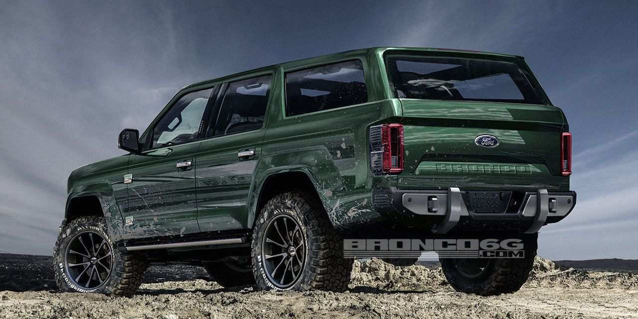 12 The Best 2019 Ford Bronco Pictures New Concept