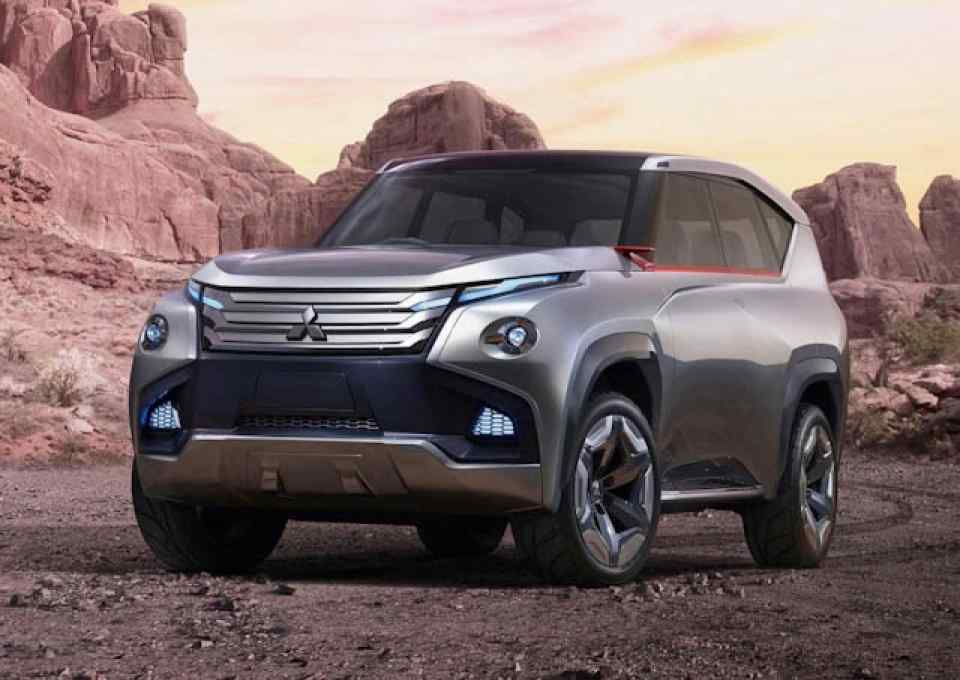 13 All New Mitsubishi Shogun 2020 Model