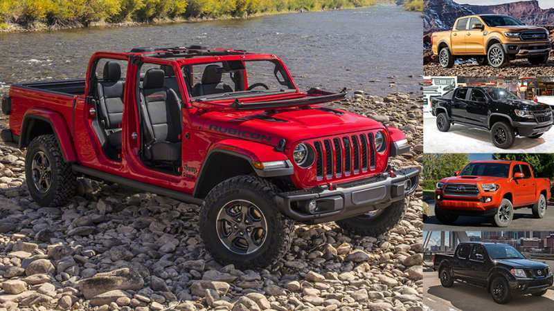 13 The 2020 Jeep Gladiator Vs Tacoma Redesign And Concept