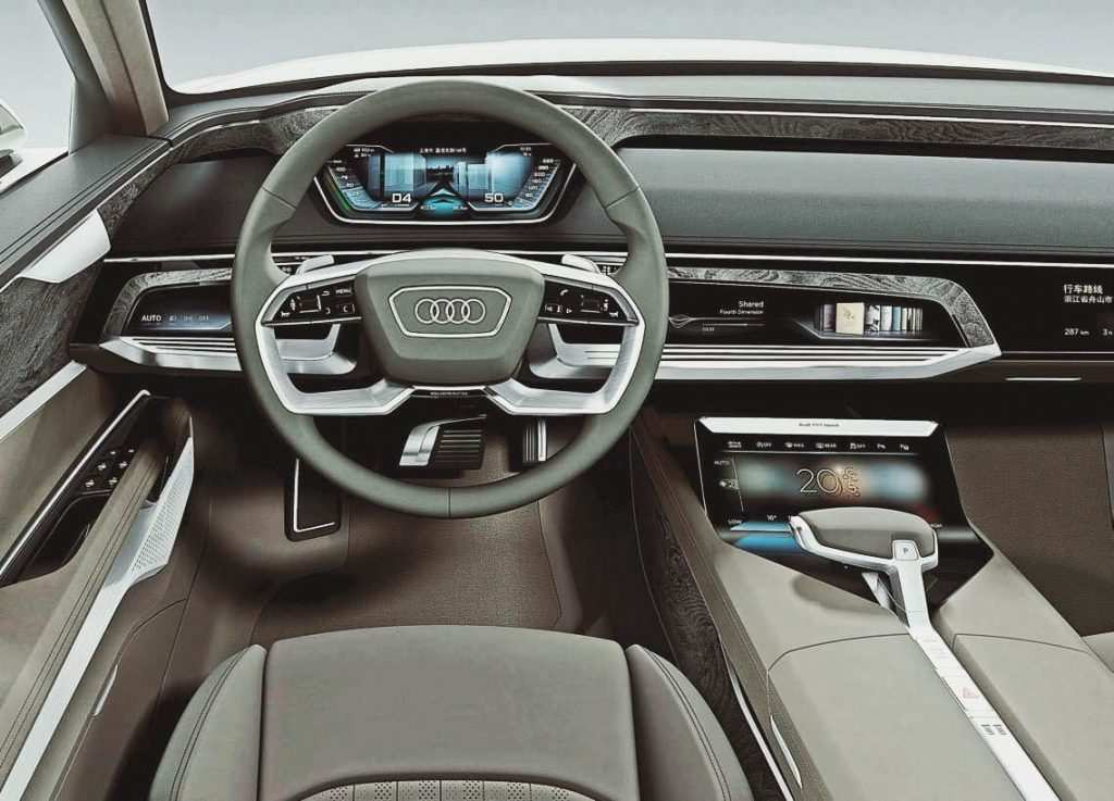 13 The Audi A6 2020 Interior Speed Test