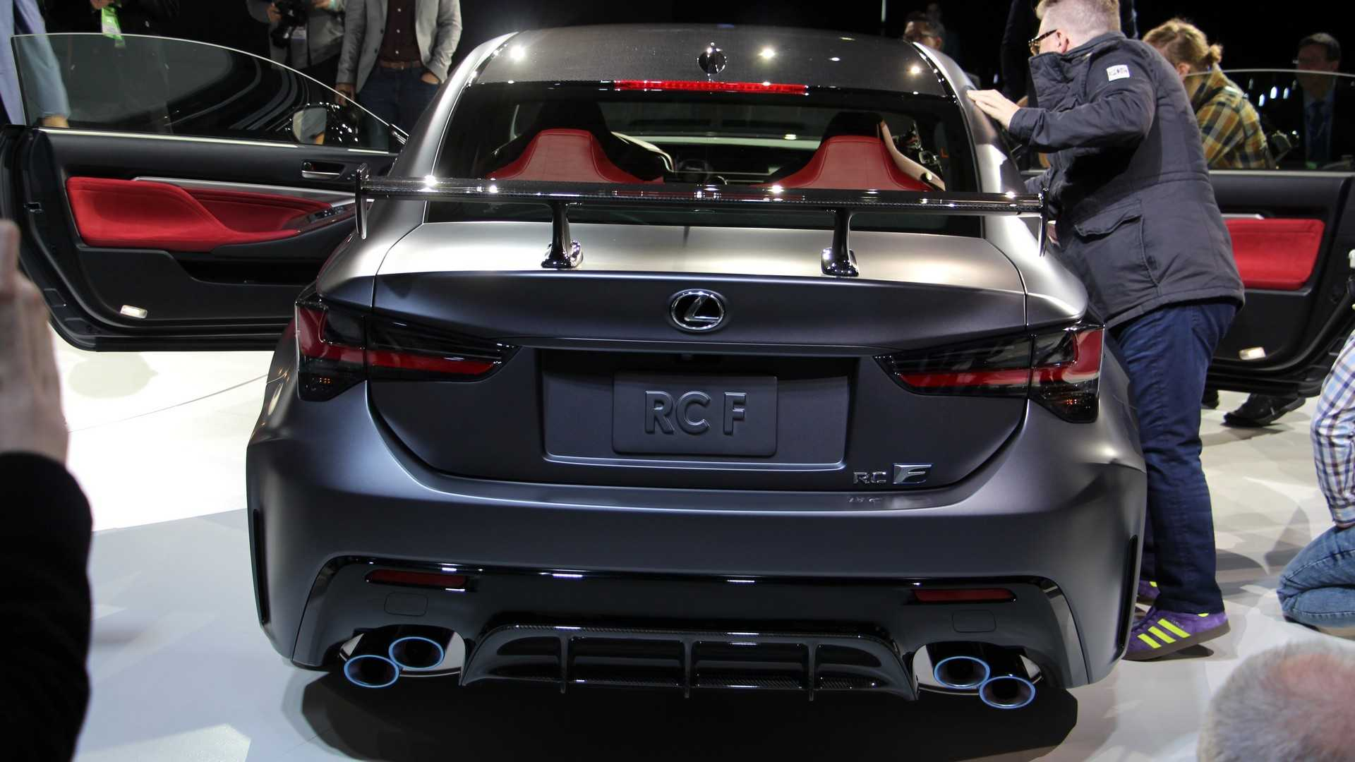 13 The Best 2020 Lexus Rc F Track Edition Price Wallpaper