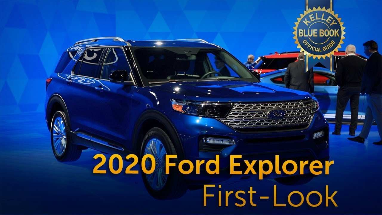14 New 2020 Ford Explorer Youtube Release Date