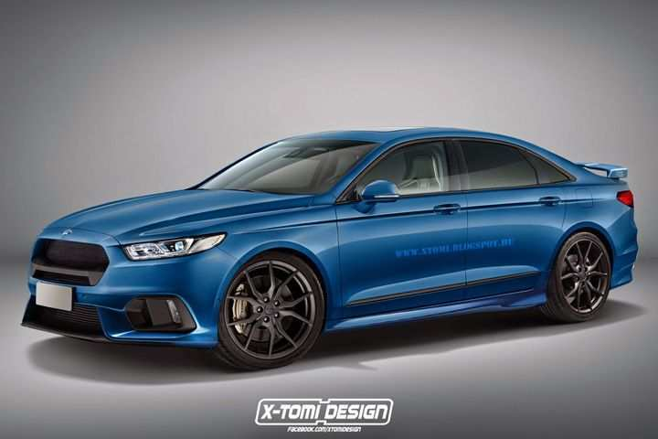 14 The 2020 Ford Taurus Exterior