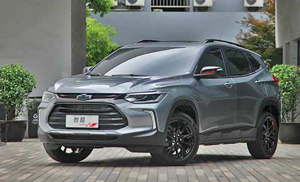 14 The Chevrolet Tracker 2020 Picture