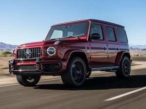 15 A Mercedes 2019 G Wagon Research New