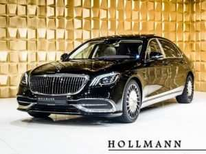 15 The 2019 Mercedes Maybach S650 Concept