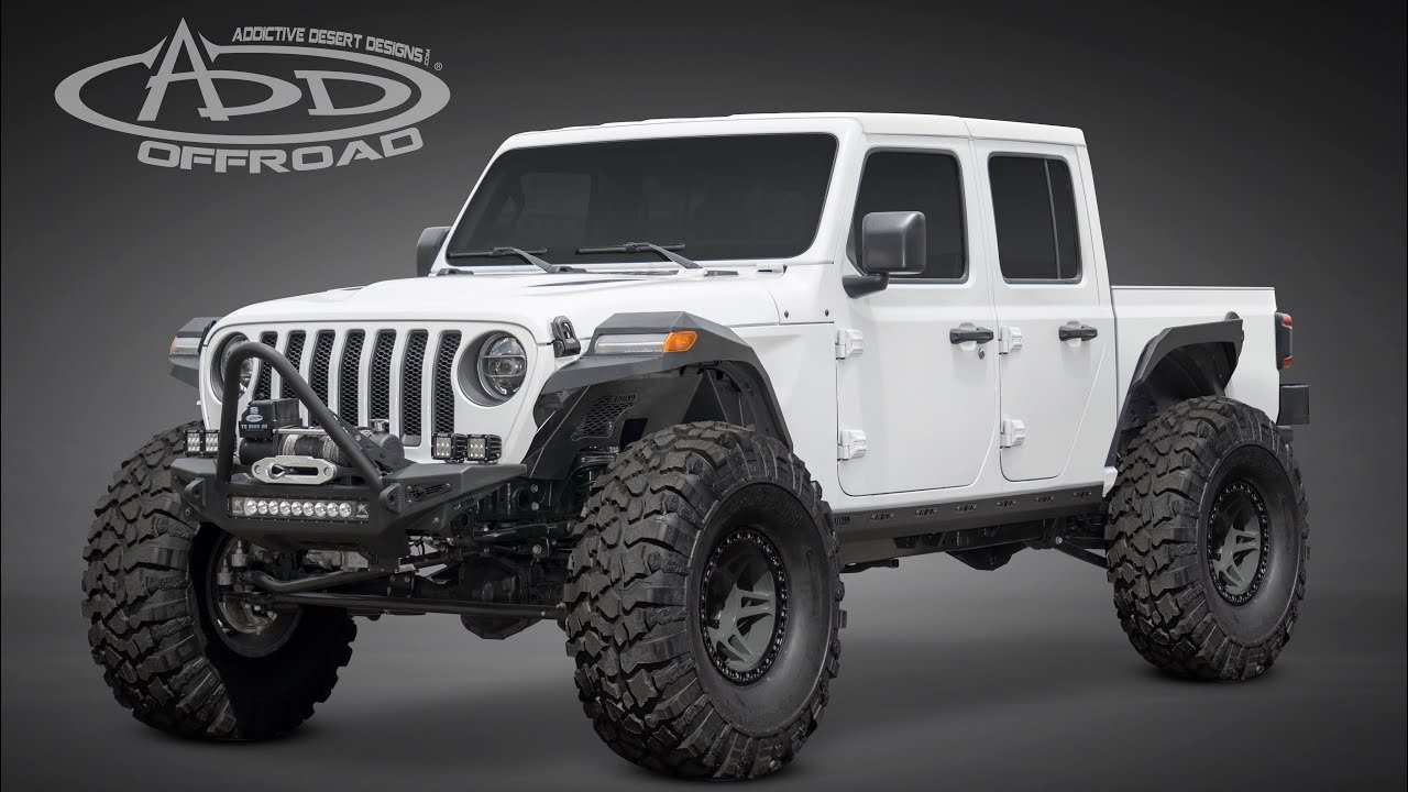 16 A Lift Kit For 2020 Jeep Gladiator Wallpaper
