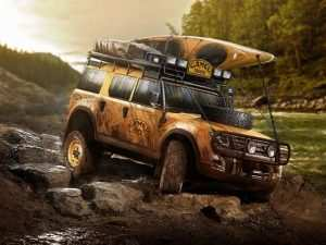 16 All New 2019 Land Rover Defender Ute Images
