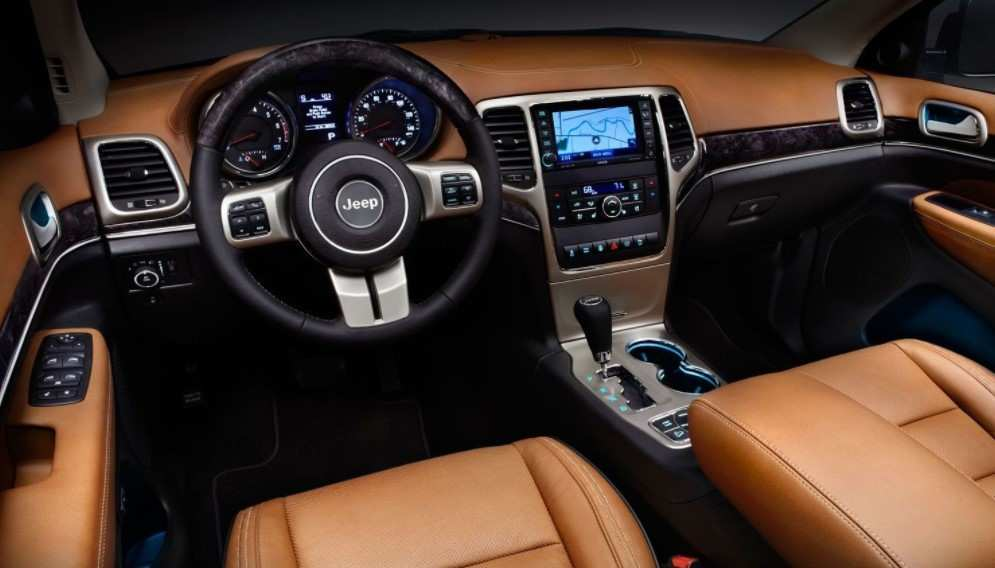 16 The Best 2020 Jeep Grand Cherokee Interior Configurations