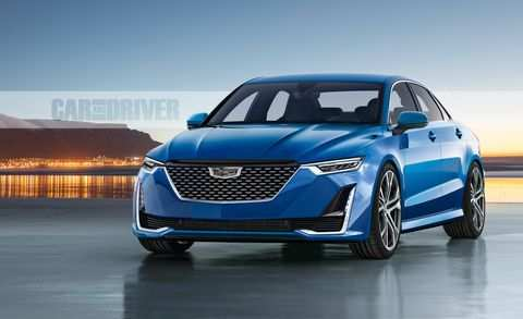 16 The Cadillac Cars 2020 Spy Shoot
