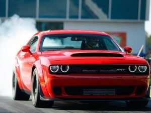 17 A 2020 Dodge Demon Performance and New Engine