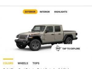 17 A 2020 Jeep Gladiator Color Options Images
