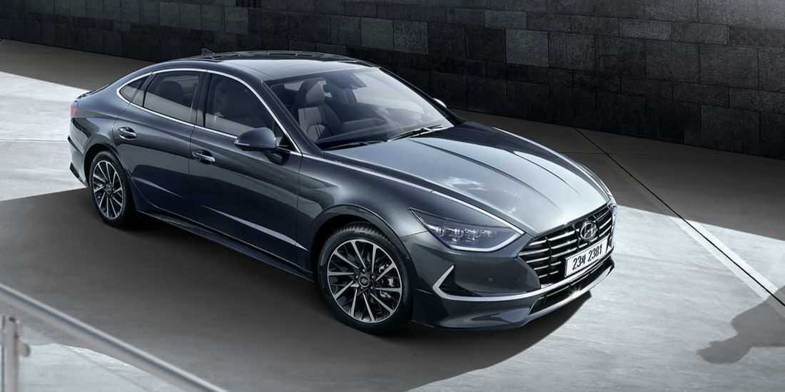 17 New 2020 Hyundai Sonata Hybrid Redesign And Concept