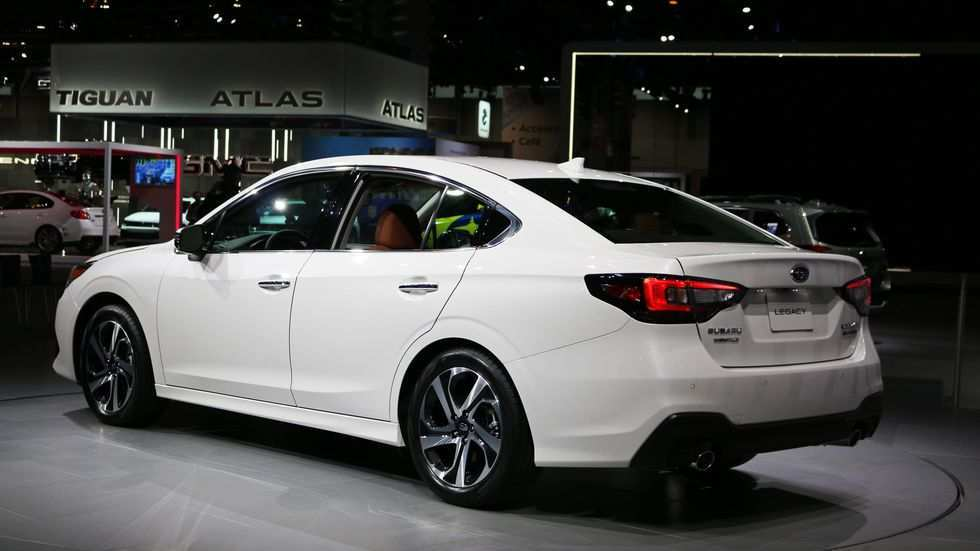 17 The Subaru Legacy 2020 Turbo Picture