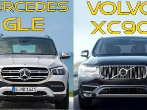 18 All New 2020 Mercedes Gle Vs Volvo Xc90 Spy Shoot