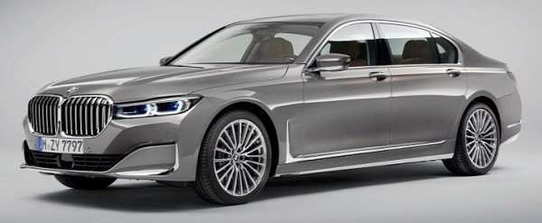 18 New 2020 Bmw 760Li Spy Shoot