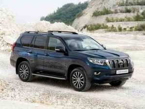 19 A Toyota Prado 2020 Spy Shots Overview