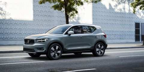 19 A Volvo Xc40 Model Year 2020 Concept