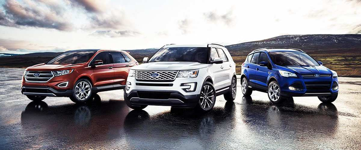 19 All New 2019 Ford Lineup Exterior