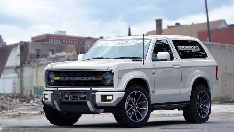 19 All New Ford S New Bronco 2020 New Concept