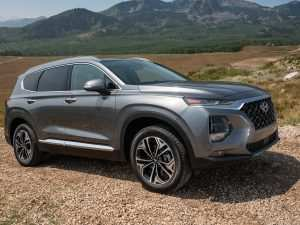 19 The 2019 Hyundai Santa Fe Engine Exterior