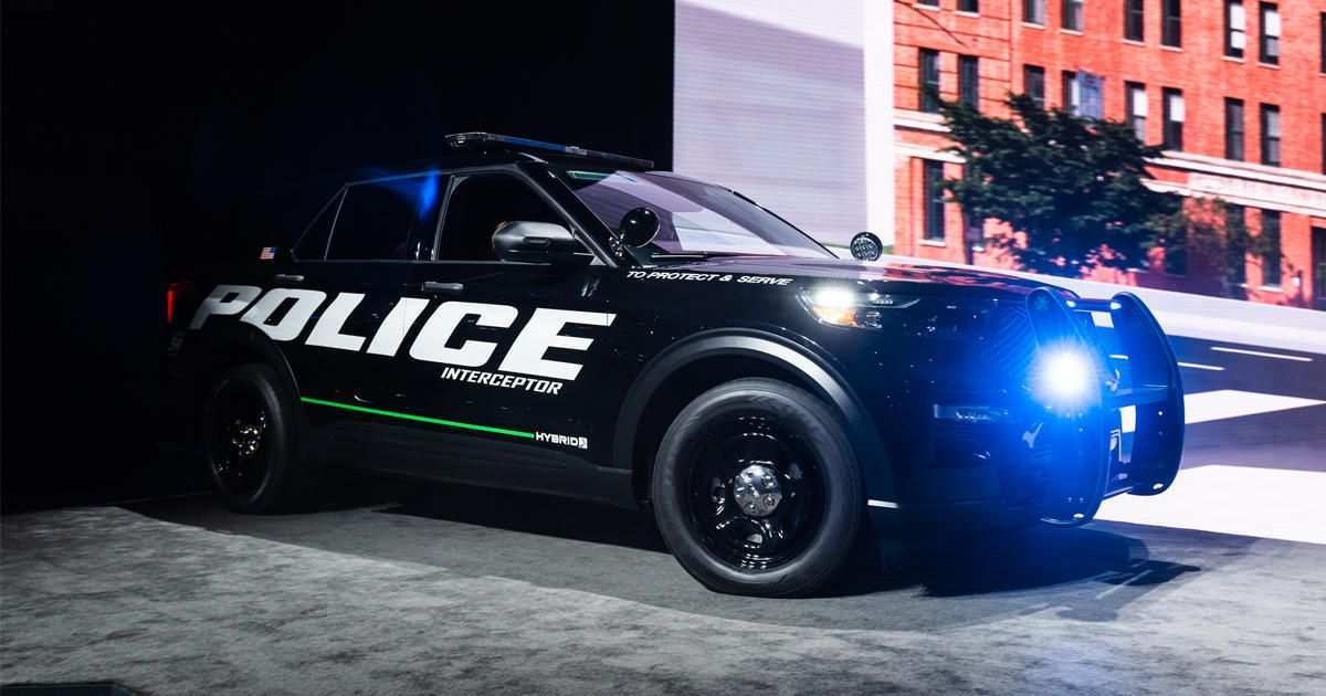 20 A 2019 Ford Police Utility Model