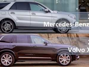 20 A 2020 Mercedes Gle Vs Volvo Xc90 Images