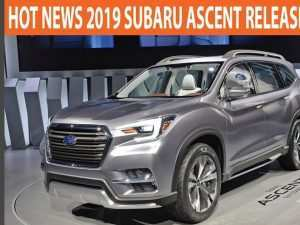 20 All New 2019 Subaru Ascent Release Date Spy Shoot