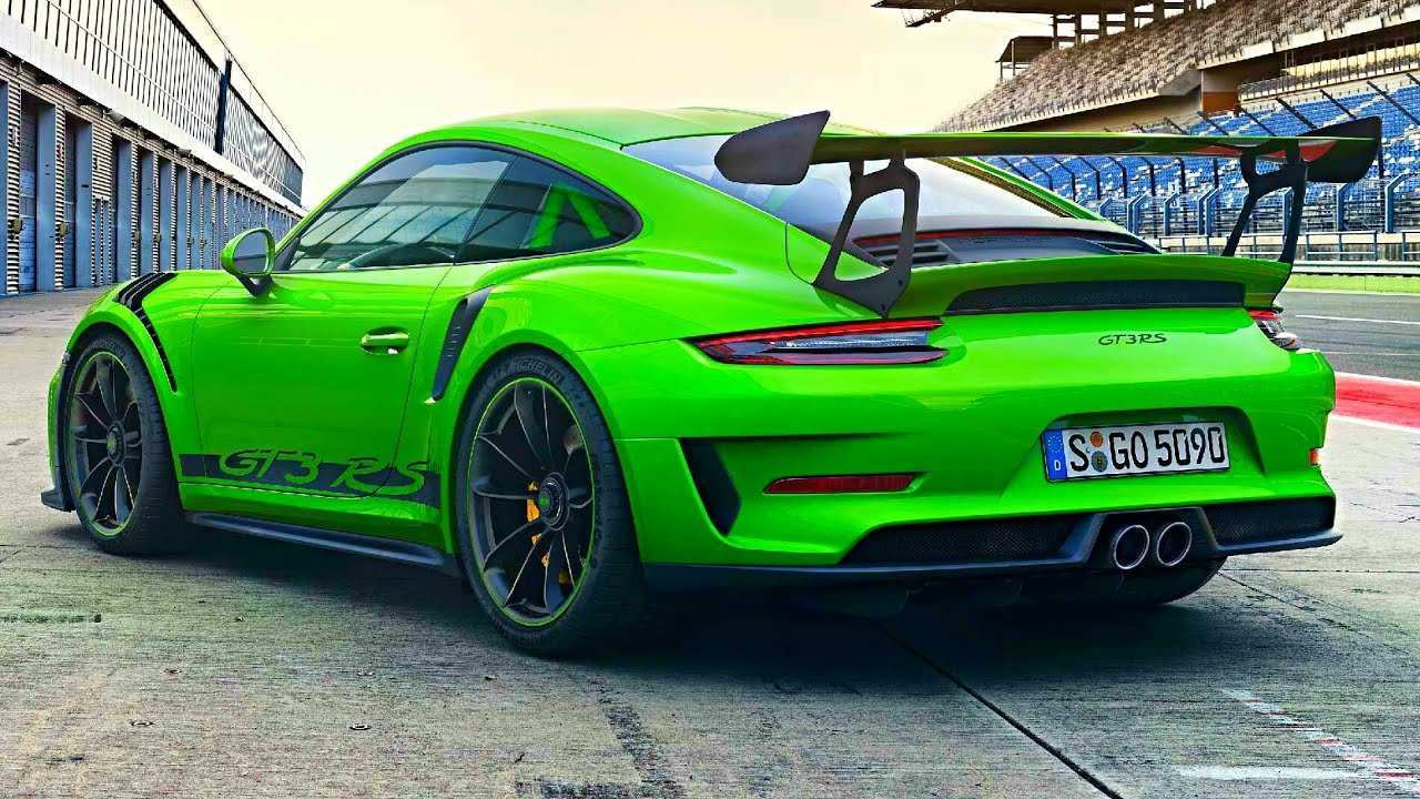 20 Best 2019 Porsche 911 Gt3 Rs Performance