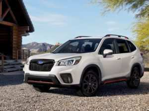 21 A 2019 Subaru Forester Sport Engine