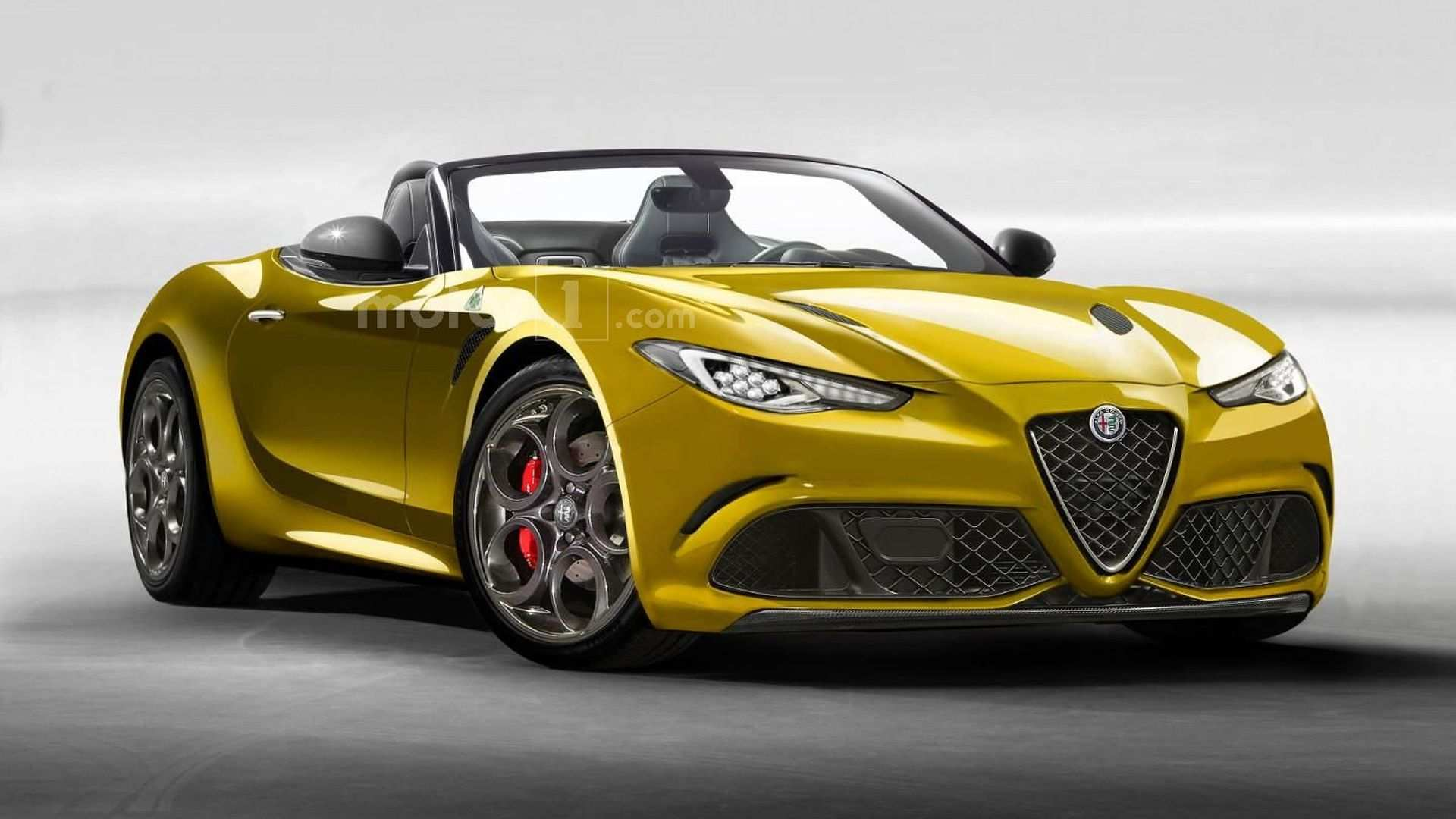 21 All New Alfa Spider 2020 Exterior And Interior