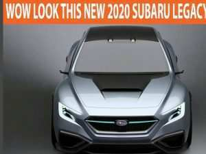 21 All New Subaru Legacy Gt 2020 Exterior