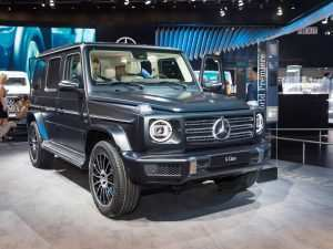 21 The Mercedes 2019 G Wagon Interior