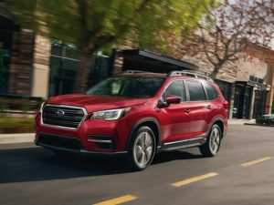 21 The When Will 2020 Subaru Ascent Be Available Release Date and Concept