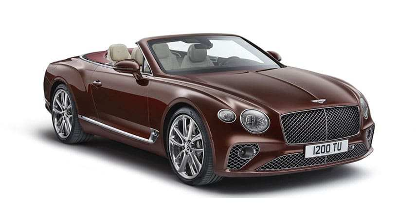 22 A 2019 Bentley Supersport Interior