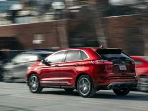 22 A 2019 Ford Edge Speed Test