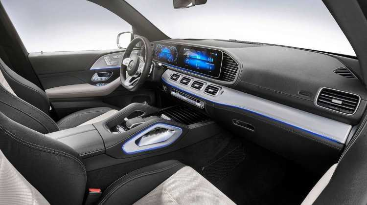 22 All New Mercedes Gle 2019 Interior Wallpaper