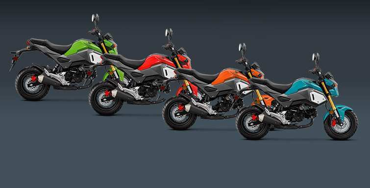 22 The Honda Grom 2020 Performance And New Engine