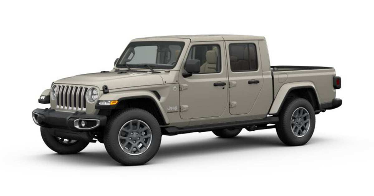 24 A When Can You Order 2020 Jeep Gladiator Spesification