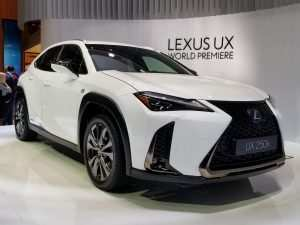 24 New 2019 Lexus Ux Release Date Model