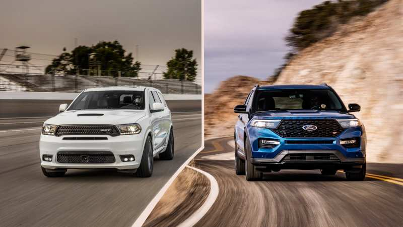 24 New Dodge Durango Rt 2020 Spy Shoot