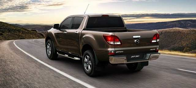 24 The Mazda Pickup 2020 Spy Shoot