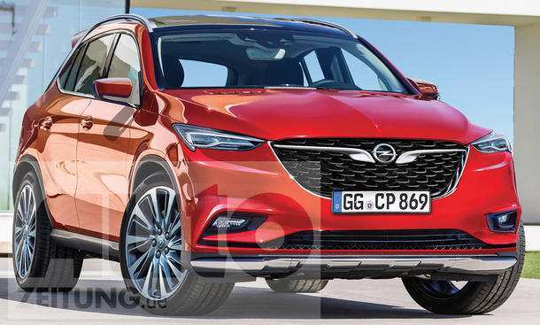 24 The Opel Zafira Modell 2020 Performance And New Engine
